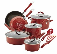 Rachael Ray 12-Piece Cookware Set Giveaway ends June 14th, 2015 I believe. Check out allfreecasserolerecipes.com for instructions on how to enter if you'd like a chance to win.