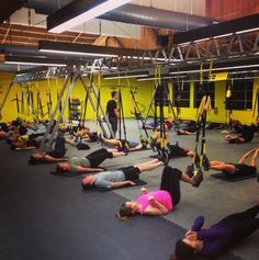 Who's working harder than us at 6am?!?! #earnit #trainatthesource #trx #riseandgrind