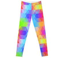 'Rainbow pattern' Chiffon Top by EkaterinaP Gothic Leggings, Pattern Leggings, Geometric Background, Baby Kids, Room Decor, Rainbow, Trends, Trending Outfits, Shirts
