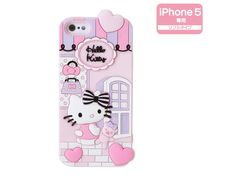 Hello Kitty iPhone 5 Silicone Soft Type Cover Case Shop SANRIO JAPAN