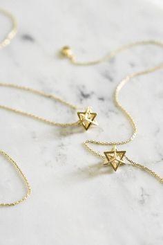 Prism Necklace / minimal, delicate - TYPENU Co