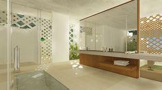 Hotel Mayakoba by Enrique Cestrilli , via Behance