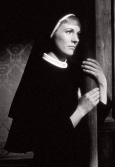 Julie Andrews as a nun in The Sound of Music