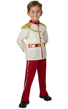 From Rubieu0027s Official Disney Prince Charming Boys Costume - Small  sc 1 st  Pinterest & Just as adorable as Cinderellau0027s dress! | Pinterest | Prince ...