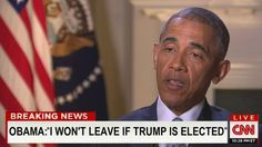 """That's okay, we'll gladly throw your ass to the curb!   BARACK OBAMA HAS SENSATIONALLY TOLD CNN'S WOLF BLITZER THAT HE WILL NOT VACATE THE OVAL OFFICE IF DONALD J. TRUMP IS ELECTED THE 45TH PRESIDENT OF THE UNITED STATES.The current president claims he is """"fully prepared"""" to ignore the popular vote if it means stopping Trump, having found what he believes is a little..."""