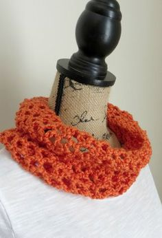 Complete this Quick Scarf Crochet Design in no Time. Or, make it a cowl!