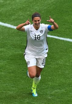 "Her secret to success? ""I've just been training my butt off for the last 12 years,"" Lloyd said after last week's victory against Germany. 