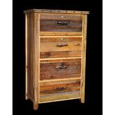 Found it at Wayfair - Barnwood 4 Drawer Lateral File Cabinet