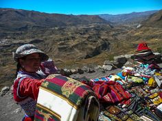Souvenirs at Colca Canyon, Peru