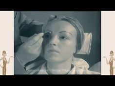 Max Factor MakeUp Masterclass - 1936 Film - YouTube