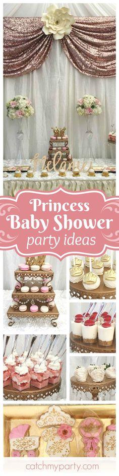 34 ideas baby shower ideas princess little girls for 2019 Baby Shower Favors, Shower Party, Baby Shower Parties, Baby Shower Themes, Baby Shower Invitations, Shower Ideas, Baby Showers, Shower Games, Baby Shower Princess