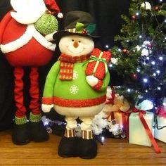クリスマス 足ながスノーマン