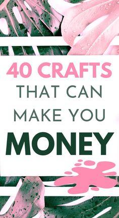 Boy Diy Crafts, Easy Crafts To Make, Diy Crafts For Adults, Decor Crafts, Easy Diy, Money Making Crafts, How To Make Money, Diy Room Decor For Girls, Craft Business