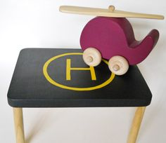 Helicopter Helipad Helicopter Landing Pad Car by 2HeartsDesire, $10.00 Proudly Made With Our Hands