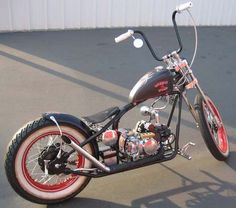 Kikker 5150 Hardknock Bobber Motorcycles by Kikker5150