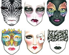 157 best FACE CHARTS images on Pinterest | Primary school ...