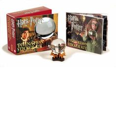Suitable for the Harry Potter fans, this work includes: Divination Crystal Ball