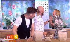 MÁGICO: Ilusionismo acabou machucando a mão de Marzena Rogalska furando a mão da apresentadora com um prego; assista!