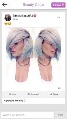Blue blonde