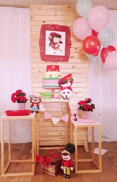 Baby Birthday, Birthday Parties, Red Riding Hood Party, Donut Party, Party In A Box, Little Red, Holidays And Events, Dessert Table, Party Themes