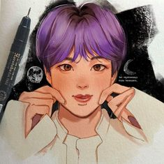 Bts Drawings, Cartoon Drawings, Agust D, Kpop Fanart, Namjin, Jikook, Seokjin, Boy Bands, Chibi