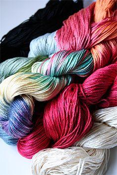 Silk Pearl Knitting Yarn