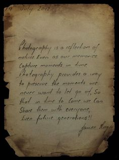 Photograph Photography Quote  by James Deeges on 500px