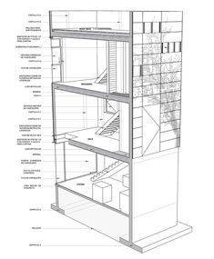 Wonderful-Section-Planning-Design-Idea-in-Four-Floor-with-Grey-Concrete-Wall-and-Brown-Wooden-Floor.jpg (896×1085)