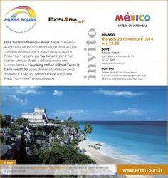 Serata Press Tours in collaborazione con l'Ente del Turismo del Mexico  Bari