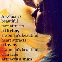 The true eternal beauty of a woman.....