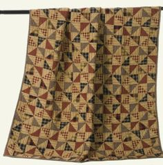 """""""Pinwheel"""" Country Quilted Throw-"""