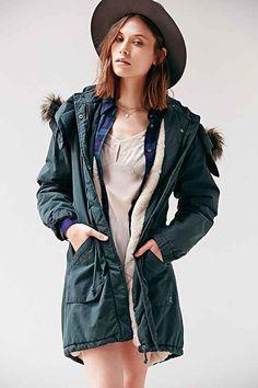 Numph Rebecca Parka - Urban Outfitters