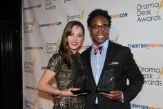 Congrats to Laura Osnes and Billy Porter on their Drama Desk Award wins for Rodgers + Hammerstein's Cinderella and Kinky Boots on Broadway!