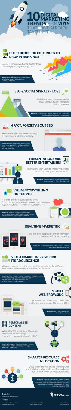 10 Digital Marketing Trends You Need to Know to Achieve Success #Infographic