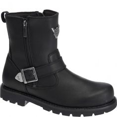 d60c7069a51763 93307 Harley Davidson Men s Flagstone Motorcycle Boots - Black  www.bootbay.com