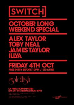 Are you in need of a Longer Weekend? Well you're in luck October Long Weekend, Alex Taylor, Presents, Friday, Gifts, Favors