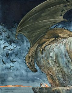 """Thomas Gronbukt, """"Watched by a Dragon"""""""