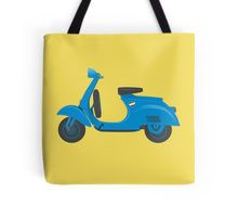 Cool #blue #vintage #Vespa bag! Get it on other products as well :) #retro #italian #scooter #totebag