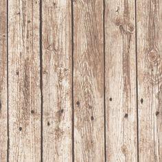 Dekorační látka Dřevo hnědé