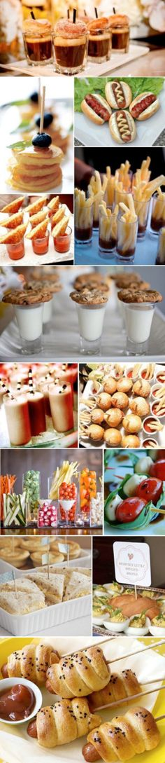 mini appetizer ideas
