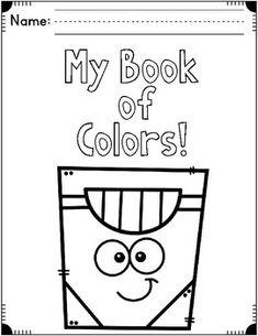 color words freebie kindergarten preschool learning teaching colors preschool colors. Black Bedroom Furniture Sets. Home Design Ideas