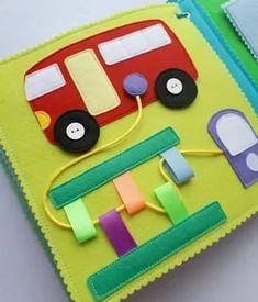 Nice lacing page Diy Quiet Books, Baby Quiet Book, Felt Quiet Books, Quiet Book Templates, Quiet Book Patterns, Book Activities, Preschool Activities, Quilt Book, Sensory Book