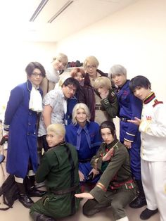 Hetalia Cosplay, Wish You Luck, High School Host Club, Stage Play, Usuk, Amazing Cosplay, Manga, Musicals, Tv Shows
