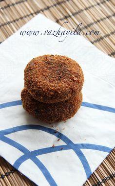 Vazhayila.com: Beef Cutlet - Kerala Style