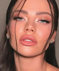 Makeup Eye Looks, Natural Makeup Looks, Makeup For Brown Eyes, Skin Makeup, Beauty Makeup, Soft Eye Makeup, Natural Everyday Makeup, Pastel Makeup, Beauty Tips