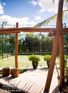 Hoy iremos de una lujosa pisicina, a través de los manglares, a las canchas de tennis… #CAMPmayakoba #tennis #games #deporte #vidadeportiva #vacaciones #visitamexico #resort #hotel #resortdelujo #mayakoba