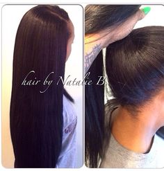 Versatile Sew-In Hair Weaves that can be pulled into a high ponytail!!!! FLAWLESS SEW-IN HAIR WEAVES by Natalie B. @Natalie Jost Jost Birdsong ...(708) 675-9351 ---- Order your hair online at www.naturalgirlhair and follow us @naturalgirlhairimports!