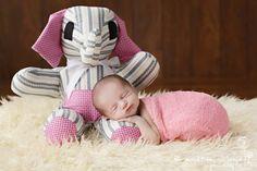 Pink Stretch Knit Wrap Newborn Photography   Beautiful Photo Props