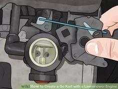 Image titled Create a Go Kart with a Lawnmower Engine Step 3