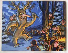 krampusnacht krampus | Showing Santa's Dark Side at 'Krampusnacht Art Show' | Fuel Your ...